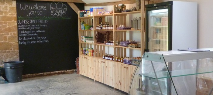 Etherley Farm Produce shop