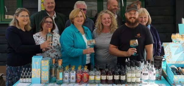 Local Action Group at Silent Pool Gin Distillery